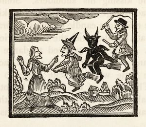 DEMON AND WITCHES