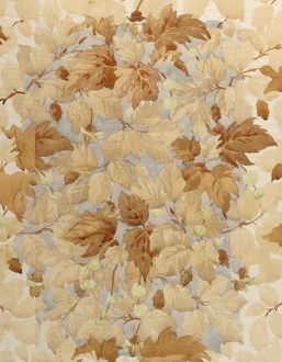 Design for Wallpaper with autumn leaves