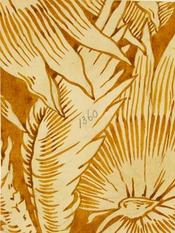 Design for Wallpaper in beige and brown