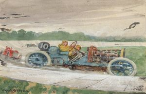 EARLY RACING BROOKLANDS