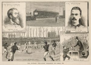 ETON VS BLACKBURN 1882/3