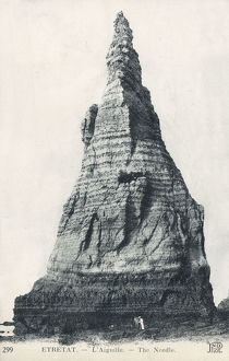 new items grenville collins collection/etretat france laiguille the needle