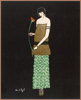 EVENING DRESS/POIRET