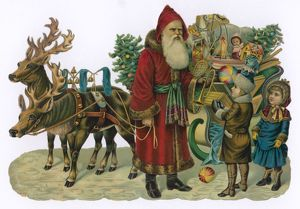 FATHER CHRISTMAS/SLEIGH
