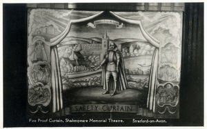 new items grenville collins collection/curtain shakespeare theatre
