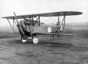The first Bristol Scout F B3989 at Filton in January 1918