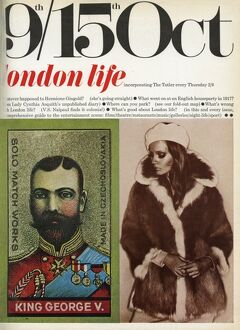 First cover of London Life magazine