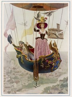 FIRST GAS BALLOON 1787