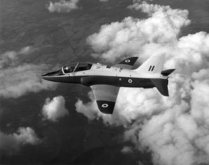 The first Hawk XX154 during its second flight