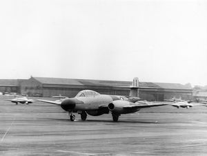 The first true prototype of the Gloster Meteor NF11 WA546