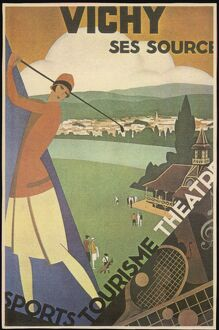 FRANCE/VICHY/GOLF 1925