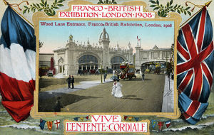 new items grenville collins collection/franco british exhibition london wood lane