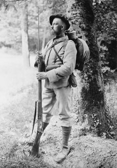 French soldier WWI