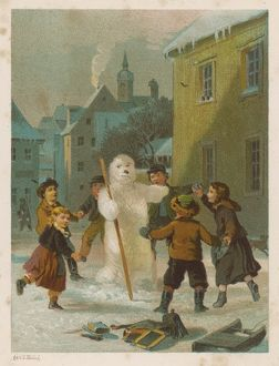 GAME/WINTER/SNOWMAN 1870