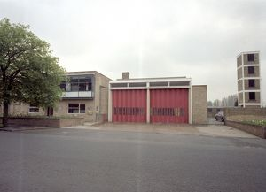 london fire brigade/glc lfb park royal fire station middlesex