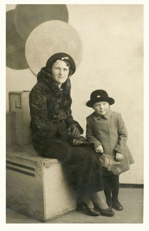 new items grenville collins collection/grimsby mother young daughter sunday best