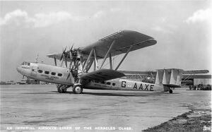 Handley Page HP42W G-AAXE Hengist at Croydon