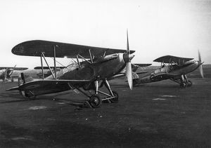 Two Hawker Fury Is, K1929 and K3735