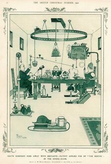 Heath Robinson automated Dining Room without servants 1 of 4