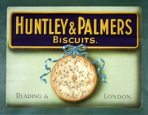 Huntley and Palmers biscuits