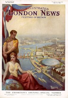 The Illustrated London News Festival of Britain issue.
