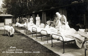 new items grenville collins collection/injured soldiers ww1 3rd southern general hospital
