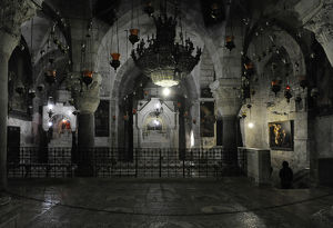 Israel. Jerusalem. Basilica of the Holy Sepulchre. Chapel of