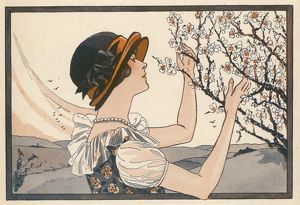 LADY AND BLOSSOM 1925