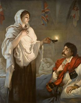 The Lady With The Lamp Florence Nightingale