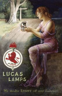 LUCAS LAMPS ADVERT