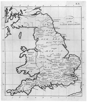 MAP/BRITAIN/SAXON PERIOD