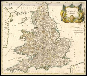 MAP/ENGLAND & WALES 1810