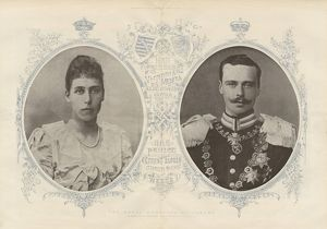 Marriage of Princess Victoria Melita & Ernst Ludwig of Hesse