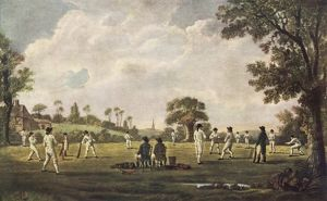 MATCH AT HAMBLEDON/1777