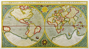 MERCATOR/WORLD MAP/1587