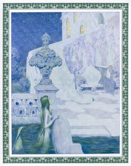 MERMAID GAZES AT PRINCE.
