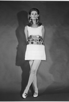 METAL DISC DRESS 1968