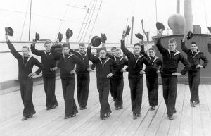 NAVAL CADETS HORNPIPE
