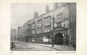 new items grenville collins collection/old shops cripplegate london