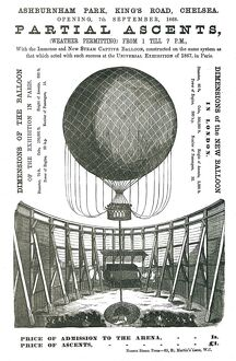 Partial Ascent of the 'New Steam Captive Balloon'