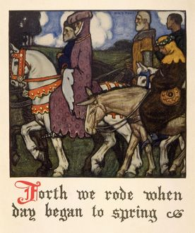 PILGRIMS SET OUT