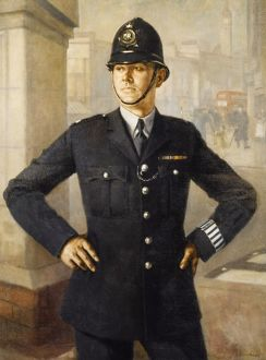 POLICE OFFICER LONDON