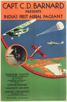 Poster, India's First Aerial Pageant
