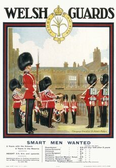 POSTER FOR WELSH GUARDS