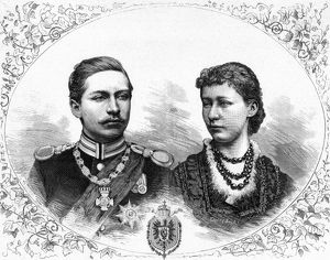 Prince Wilhelm and Princess Auguste Viktoire