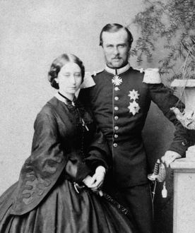 Princess Alice with Grand Duke Louis of Hesse