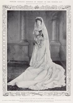 Princess Margaret of Connaught on her wedding day