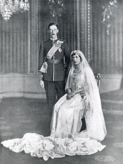 Princess Mary and Viscount Lascelles