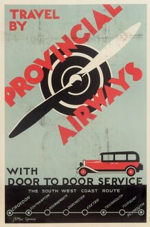 Provincial Airways Poster
