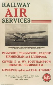 Railway Air Services Poster